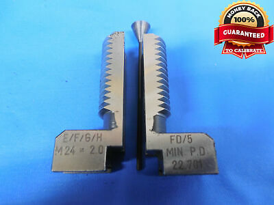 AU103.15 • Buy JOHNSON GAGE GJ-5S THREAD COMPARATOR SEGMENT M24 X 2.0 6H P.D. 22.701 Mm FD/5 2