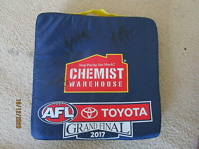 AU19.99 • Buy Signed 2017 AFL Grand Final Seat Cushion - Adelaide V Richmond...Signed.