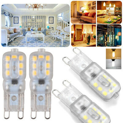 AU15.78 • Buy 10X G9 3W LED Dimmable Capsule Light Bulb Replace Halogen Lamps AC220-240V White