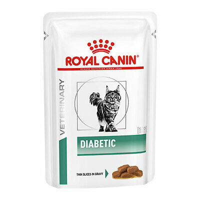 Royal Canin Diabetic Cat Food Veterinary Health Nutrition 48 X 85g Pouches • 40.52£