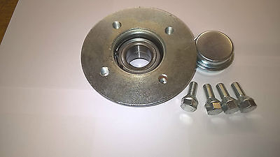 Trailer 100mm PCD Hub Sealed 64x37x34 Bearing Fits Ifor Williams P6E Knott Axle • 33.95£