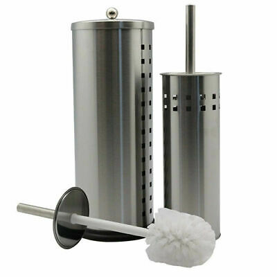 AU28.90 • Buy Spare Toilet Paper Roll Holder & Toilet Brush Stand Storage Bathroom Cleaning