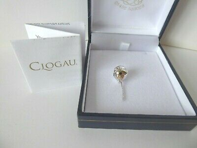 Clogau Welsh Gold, Silver & 9ct Rose Gold Balloon Bead Charm RRP £119 • 55£
