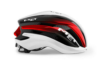 MET Trenta 3K Carbon Helmet UAE Team Cycling Helmet Road Size M • 175£