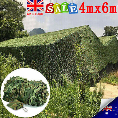 Camouflage Netting Hunting/Shooting Hide Camo Net Army Camping Woodland Netting • 15.59£