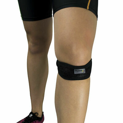 Adjustable Patella Tendon Knee Support Strap For Relief From Pain Runners Knee • 3.49£