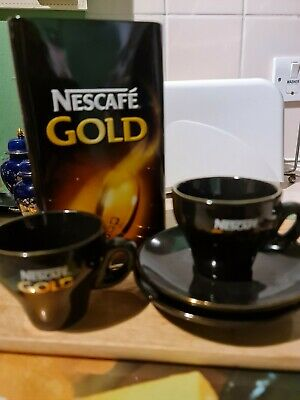 Nescafe Expresso Cups And Saucers • 10£