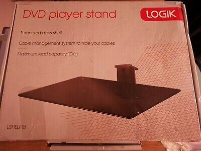 Logik LSHELF15 DVD PLAYER STAND OR SHELF • 8.50£