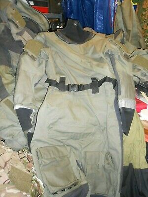 Typhoon Gore-tex Immersion Suit Olive Green Used Condition Medium Uksf Rm Sbs Sf • 85£