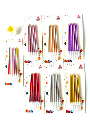 £2.49 • Buy Birthday Cake Candles With Holders Party,Wedding And Cupcake(12 Pieces)