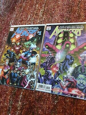 The Avengers Earths Mightiest Heroes #1 & 2 (LGY #691 & 692) • 4£