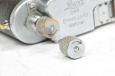 Genuine Leitz , REWINDING KNOB, Never Used, SPARE PARTS For Leica  III / A /  B • 16.20£