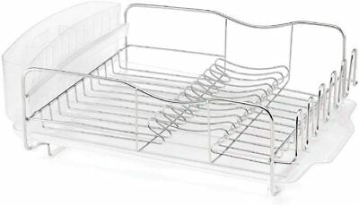 AU113.14 • Buy New POLDER Advantage PRO 3 Piece Dish Rack Cutlery Utensil Caddy Drainer