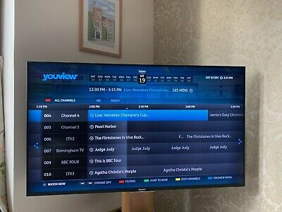 Sony TV KDL-55W809C 55  FHD LED Internet TV Excellent Condition Built In Youview • 350£