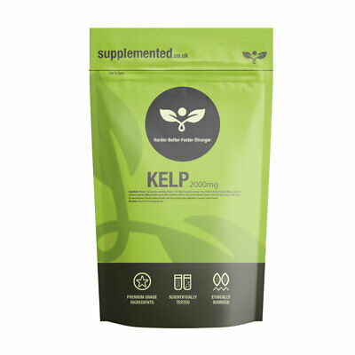 View Details Sea Kelp Extract 2000mg 180 Capsules Iodine Thyroid, Hair, Skin Immune System • 9.99£