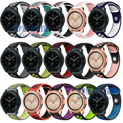 AU8.99 • Buy For Samsung Galaxy Watch Active 1 2 40mm/44mm Silicone Band Strap Pride Rainbow
