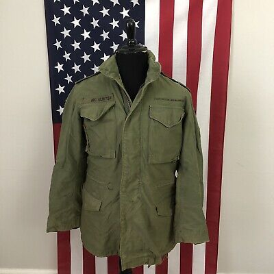 $70 • Buy Vtg 70s Alpha Industries M-65 Field Jacket Mens Small Long SL Cold Weather 2D312