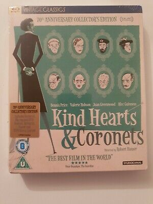 Kind Hearts And Coronets 70th Anniversary Collector's Edition Blu-ray. NEW. • 25.50£