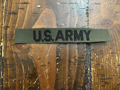 1990's US Army Tape Patch Insignia • 3.65£