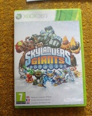 Xbox 360 Skylanders Giants Game. Includes Manuals And Cards • 6£