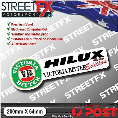 AU4.96 • Buy Hilux VB Edition Sticker Decal 4x4 4WD Beer Ute For Toyota Hilux