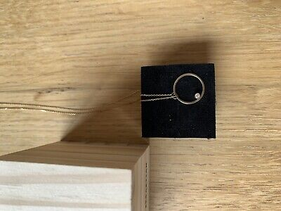 AU380 • Buy Sarah And Sebastian Young Sun Diamond Necklace Yellow Gold As New 585 AUD