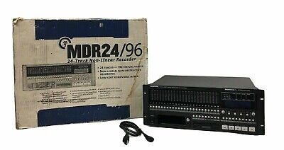 £353.99 • Buy Mackie MDR 24/96 | 24 Track Non Linear Digital Recorder | For Parts/Not Working