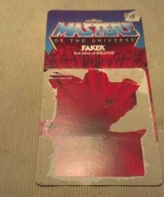 $34.95 • Buy  Vintage 1982 Faker 8 Back Cardback He-man MOTU Masters Of The Universe