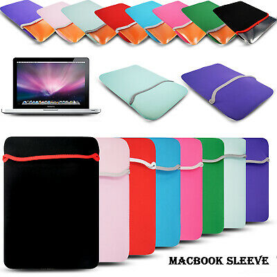 11 13 15 Inch Laptop Bag Sleeve Case Cover For MacBook Air Pro HP Dell Asus UK • 3.99£