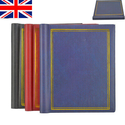 3 X Self Adhesive Large Photo Albums Totalling 60 Sheets 120 Sides Album • 11.39£