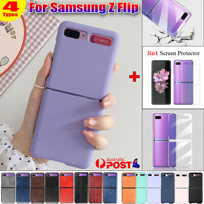 AU14.84 • Buy Shockproof Case Slim Cover + 3in1 Screen Protector For Samsung Galaxy Z Flip 5G