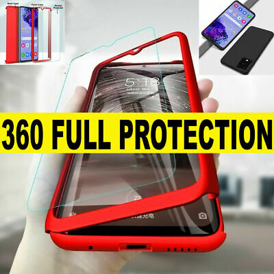 AU7.39 • Buy Samsung S20 FE A21S A51 A71 A11 360 Shockproof Full Cover Case+ Screen Protector