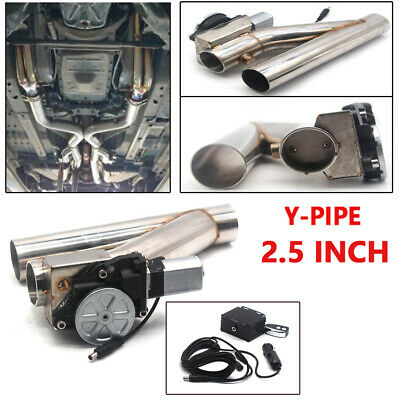 $ CDN178.03 • Buy  2.5  Patented Electric Exhaust Downpipe Cutout E-Cut Out Dual-Valve Remote Kits