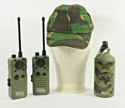 £11.99 • Buy Walkie Talkie HM Armed Forces Childs Toy With Water Bottle And Cap Camouflage