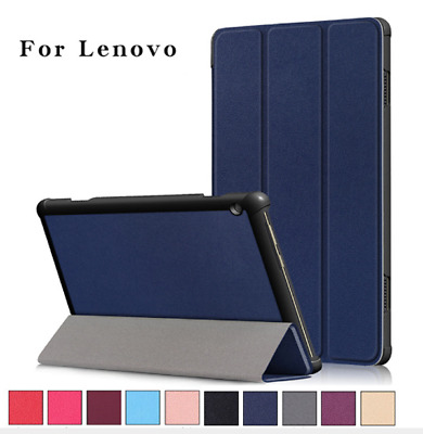 AU15.99 • Buy Leather Smart Flip Cover Stand Case For Lenovo Tab M10 & M10 FHD Plus Tablet HD