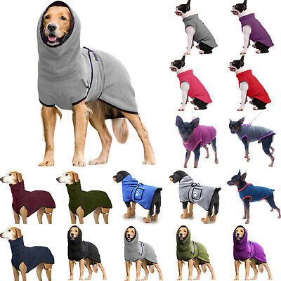 £9.59 • Buy Pet Dog Puppy Winter Pullover Clothes Outfits Coat Jumper Apparel Sweater Jacket