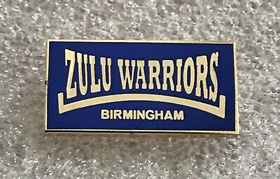 Very Rare Birmingham City Supporter Enamel Badge - Zulu Warriors Hooligan Firm • 4.99£