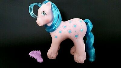 AU40 • Buy Daddy Bright Bouquet Loving Family Pony With Brush G1 Vintage My Little Pony
