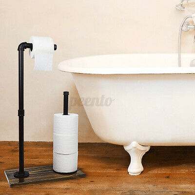 AU39.99 • Buy AU Toilet Paper Roll Holder Stand Tissue Rack Storage Home Bathroom 70cm