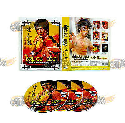 £30.90 • Buy Bruce Lee Classic Movie Collection - Movie Dvd Box Set (6 Movies)