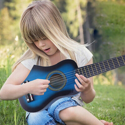 Childrens Guitar Child Kids Wooden Acoustic Musical Instrument Toy Gift 23 Inch • 11.89£