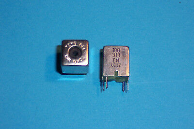RF Coil Inductor Adjustable 0.11uH Shielded Toko E526 Type NOS Qty. 2 • 3.55£