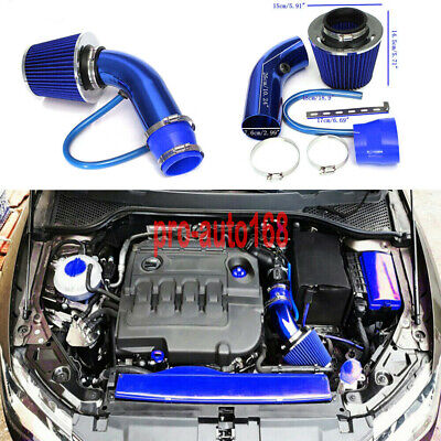 $40.59 • Buy 3  Universal Auto Car Cold Air Intake Filter Aluminum Induction Hose Pipe Kit