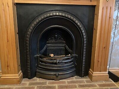 £225 • Buy Solid Metal True Fireplace Never Used Victorian Style Classic Horse Shoes Design