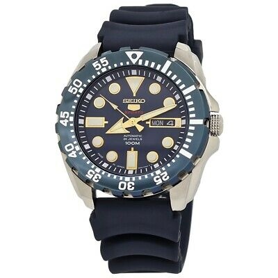 $ CDN225.58 • Buy Seiko 5 Sports Automatic 24 Jewels Blue Dial Men's Watch SRP605J2