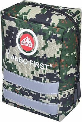 $29.99 • Buy Survival First Aid Kit Emergency Molle Gear Military Trauma Bag 120 Pieces Kits