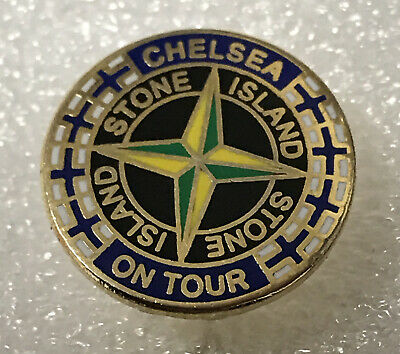 Classic Very Rare Chelsea Supporter Headhunter Hooligan Firm Enamel Badge • 5.99£