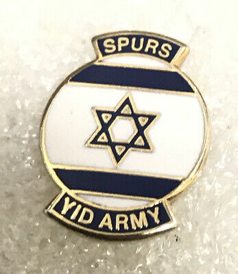 Rare Tottenham Supporter Enamel Badge Spurs Hooligan Firm - Wear With Pride • 4.99£
