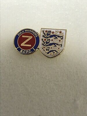 Rare Birmingham City Supporter Enamel Badge - Zulu Warriors Hooligan Firm • 3.99£