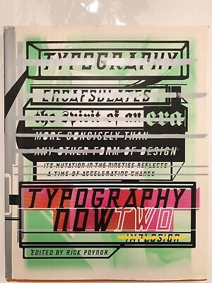 Typography Now Two - Picture Book • 10.73£